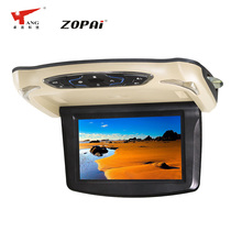 ZOPAI 9 Inch Fold Down DVD Player for Car with USB and SD Player Function