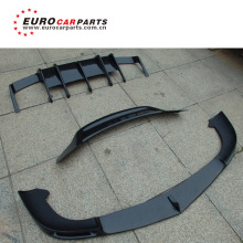 HOT SALE ! W218 CLS63 carbon fiber parts fit for MB W218 cls 63 carbon finber front spoiler diffuser rear wing