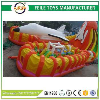 2017 Popular inflatable playground on sale