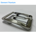 2017 Alloy Belt Buckle Blanks Wholesale Nickel Nree Gr5 Titanium Italy