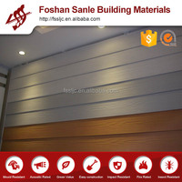 Fire rated fiber cement exterior wood wall panels