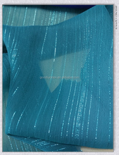 75D silver crepe chiffon FDY yarn twist 1500/0*2900 density 44*29 67gsm fabric