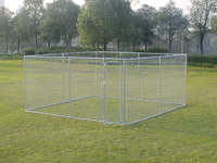 galvanized steel pet run kennels