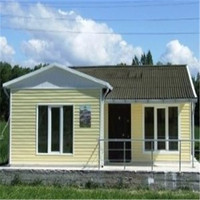 mini modular homes prefab flat roof house