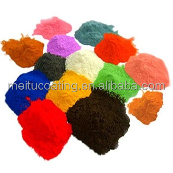 Powder state paint for metal product