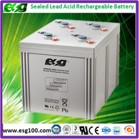 Deep cycle storage batteries 2V 2000AH Industrial battery