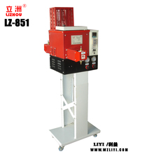 LZ-851 Double Sprayers Type Glue Coating Machine With Low Price for shoes