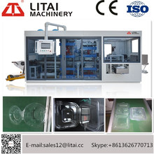 TTF-400A Plastic Thermoforming Machine for PP/PS/PET/PVC plate/lids/container