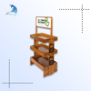 Europe Regional Feature elegant spray-painted soft wood food rack