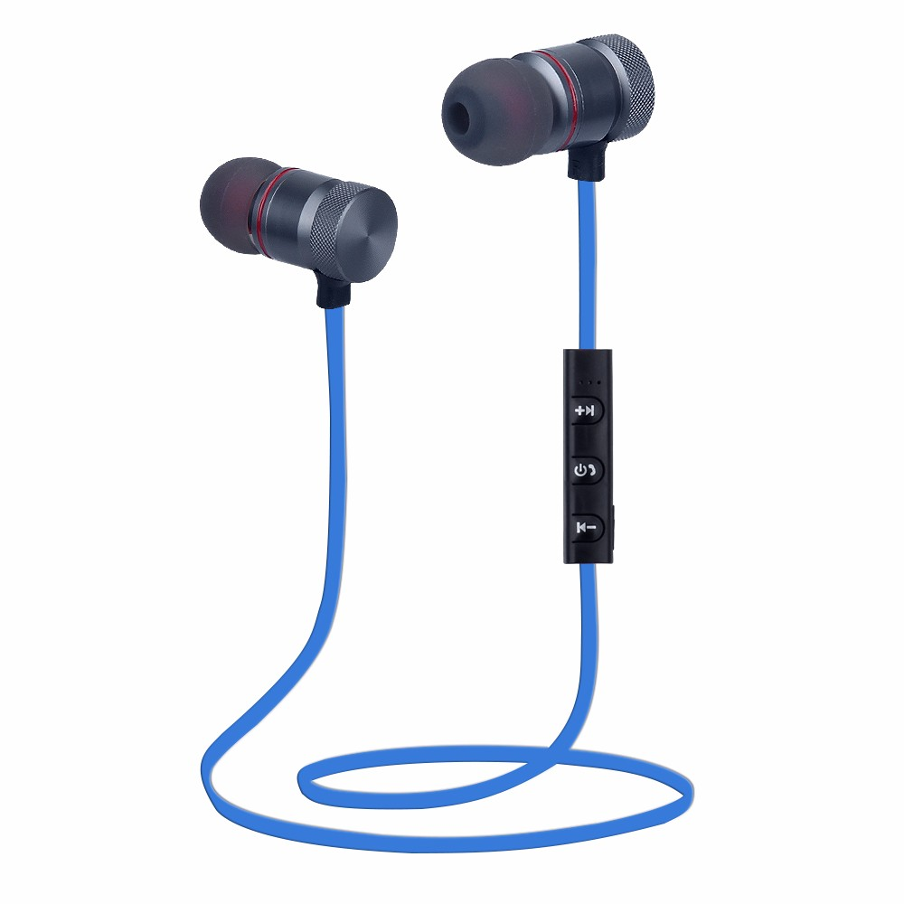 Microphone earphone wireless metal