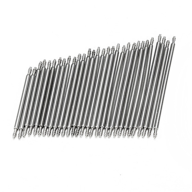 Brand New 30pcs Mixed 23-37mm Watch for Band Spring Bars Strap Link Pins Stainless Steel Excellent Quality