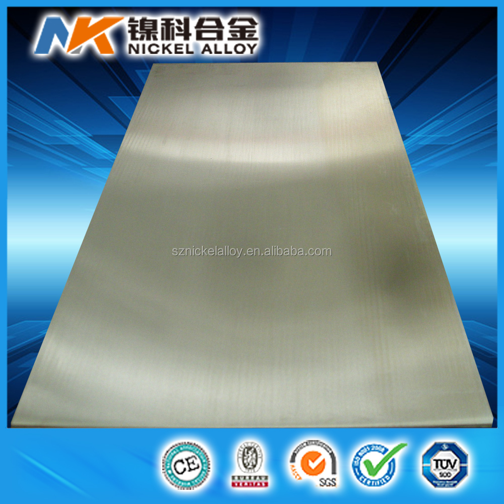Manufacture high quality monel 400 alloy plate asme sb 127