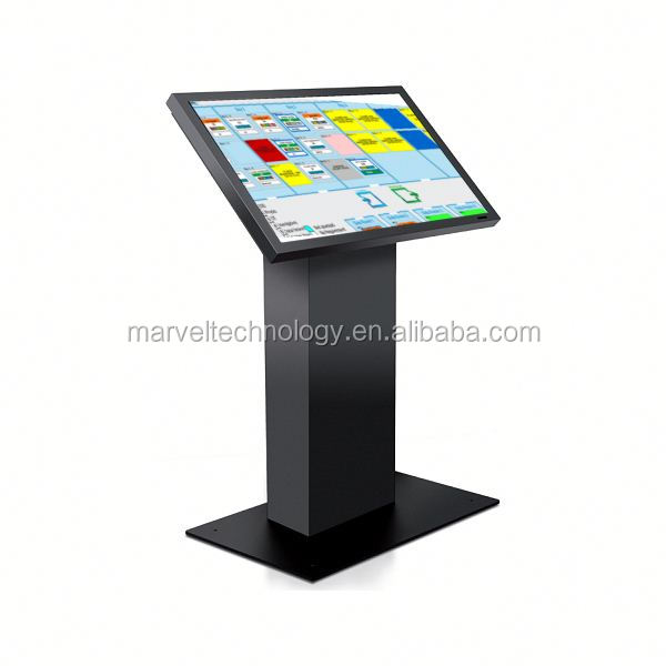 Full hd advertising display 32 inch touch screen lcd interactive kiosk