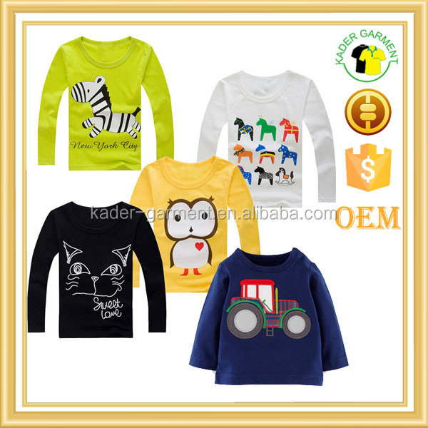 kids long sleeve t shirts inner wear for winter