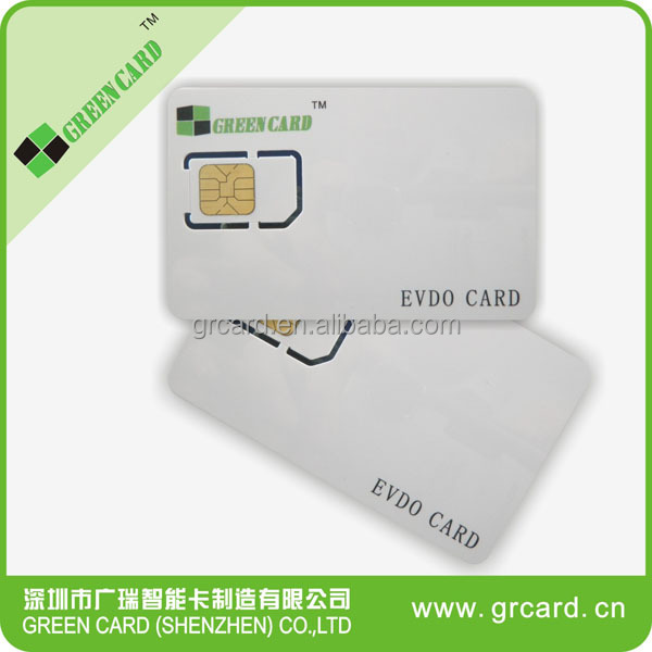 64K Programmable CDMA UIM EVDO Card With Manufactory Price