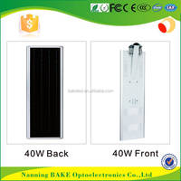 3 years warranty hot sell competitive price 40W 12v integrated solar park light