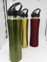 Best Sports Water Bottle , 500ml /17oz standard size BPA-Free 201/304 stainless steel Made for Running. Gym. Yoga. Outdoors