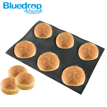 Silicone bun bread forms burgers baking molds home use baking sheets