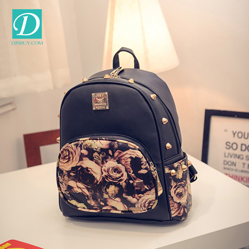 Latest Korean Style Fashion Lady Backapck OEM Backpack For Girls