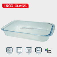 3000ml Rectangle Pyrex Glass Baking Dish