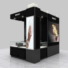 watch display showcase mall kiosk stands design for sale