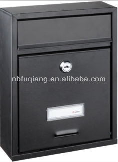 small size apartment mailbox with lock