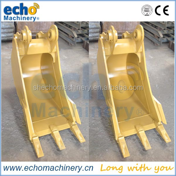 construction machinery spare parts digger bucket for light working environment