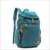 custom student canvas bagpack bag new design hiking travel laptop backpack for high school
