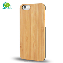 For iPhone 7 wood case, Bamboo Wood Ultra Slim Hard Case Natural Genuine Wooden Case for Apple iPhone 6