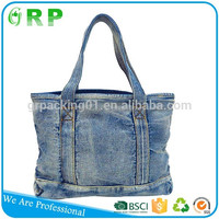 Wholesale new pattern client like denim professional women's shoulder bag