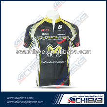 2012 OEM Polyester Dye Sublimation Cycling shirtS