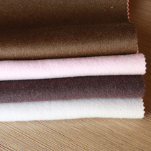 China suppliers wholesale brushed woven wool fabric double sided wool fabric