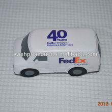 PU stress toy van model