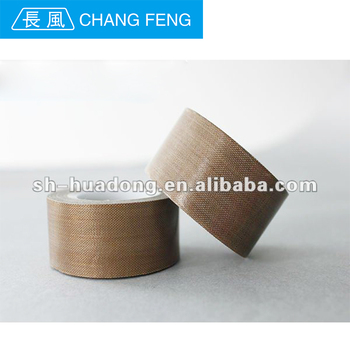 High sealing PTFE coated fiberglass adhesive tape/plastic sealed bags