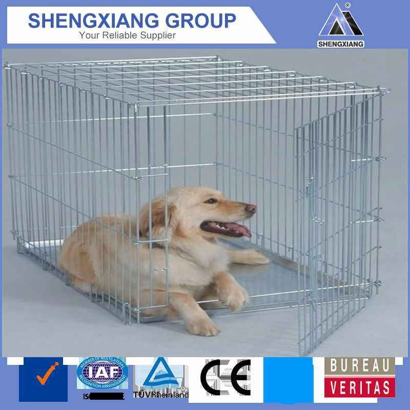 stainless steel dog cage with wheels for sale cheap