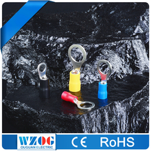RV 22-16 16-14 12-10 A.W.G. Low Voltage Tin Plated Wire Connector Crimp Automotive Ring Terminal
