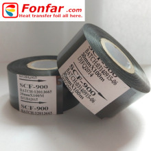 30mm * 100m Cintas SCF900 Roller Date Stamp for food with Batch Code Printer