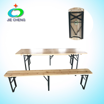 New Onlimited Design Options Wooden Folding Beer Table Set/Beer ...