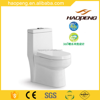 Chinese toilet/Bathroom sanitary ware siphonic one piece toilet