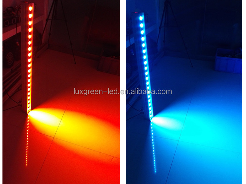 Patent Design!!! RGBW 4-IN-1 DMX Waterproof Led Linear Wall Washer Light 1M 160W RGBW 4-IN-1 Color