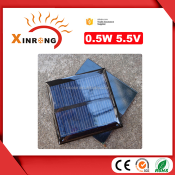 China factory Epoxy Resin Encapsulate small size custom solar panel for light