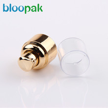 Yuyao BLOOMING with Professional china made full aluminum sliver cream pump over cap
