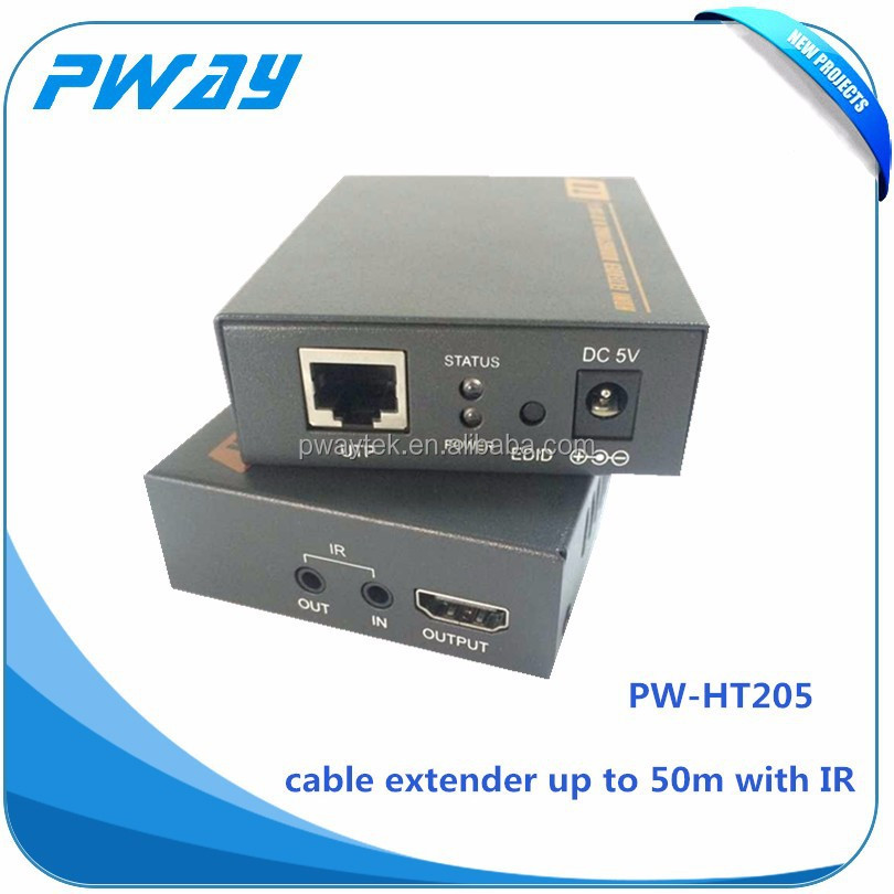 wireless hdmi transmitter and receiverfor ethernet extender utp cable support IR support EDID and 3D
