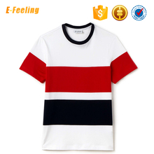 Bulk Wholesale Custom Fashion New Trend Men Fancy Crew Neck Short Sleeve T-Shirts