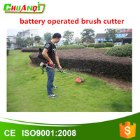 New garden gasoline products battery operated brush cutters