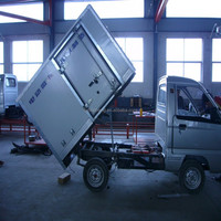 EEC/CE approved electric truck, closed cargo truck
