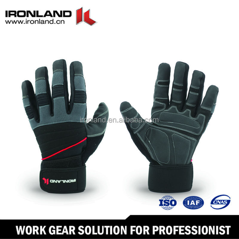 Wholesale Promorional Customized Mesh Two Finger Gloves