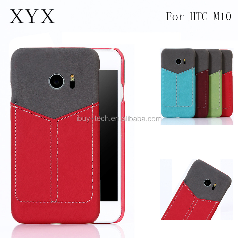 New innovative products PC hard for HTC ONE <strong>M10</strong> cell phone leather case