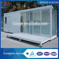 China prefab container houses,20ft construction container