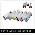 280ML For HP 72 Refillable Ink Cartridge use For HP Designjet T770 T790 T1120 T1200 T1300 T620